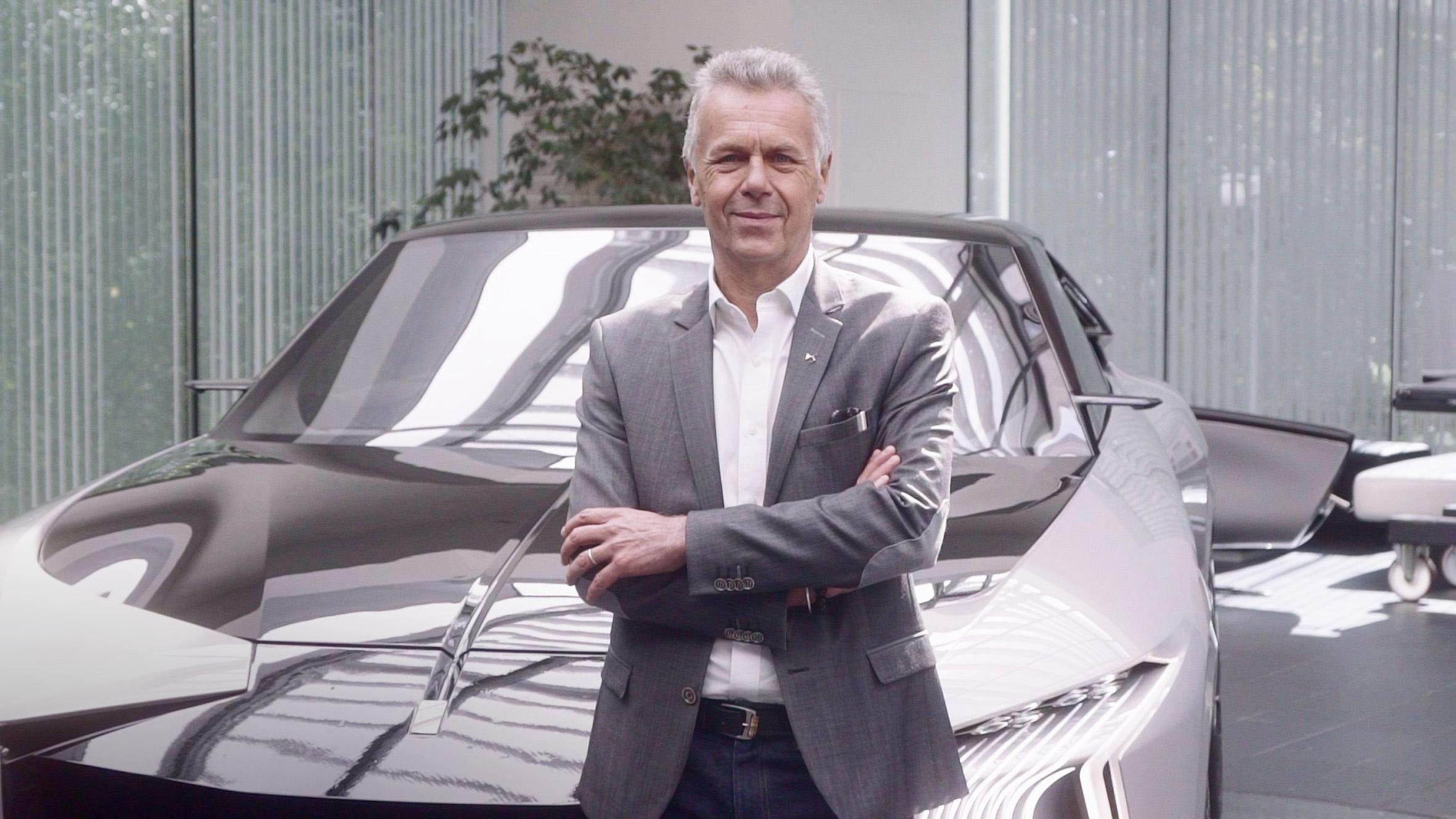 DS Automobiles design director Thierry Métroz