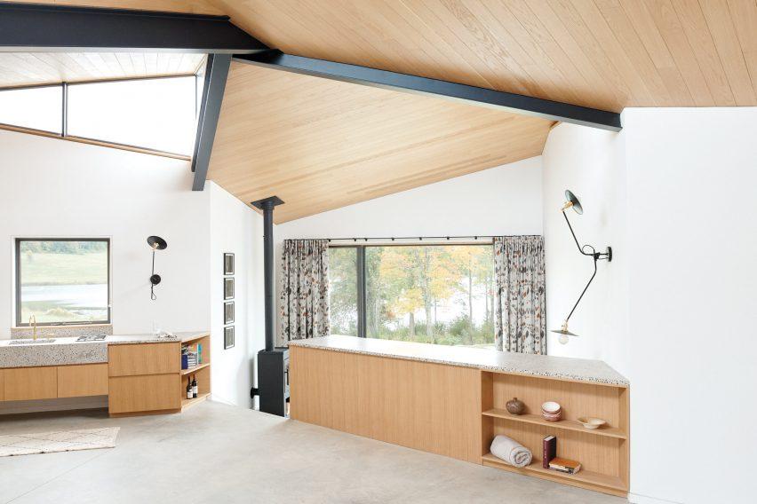 Interior of Dutchess County Studio by GRT