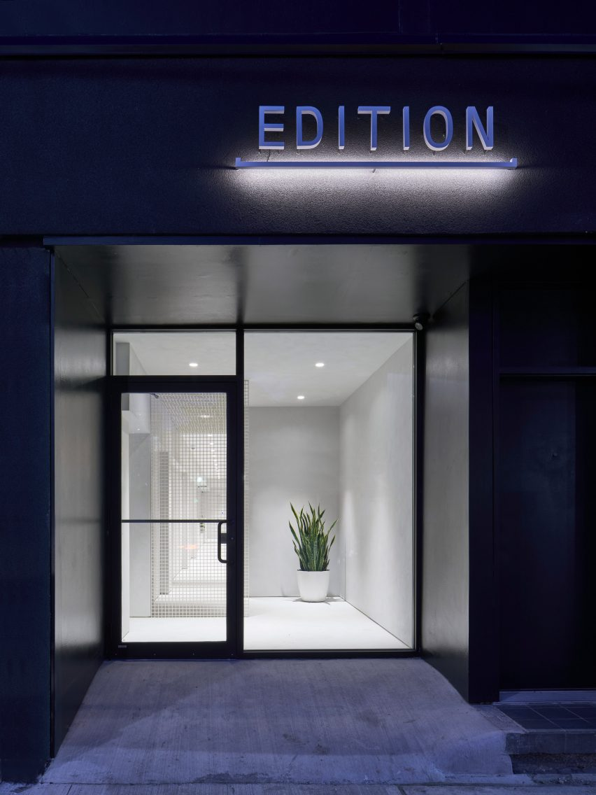Exterior of Edition X cannabis dispensary in Toronto