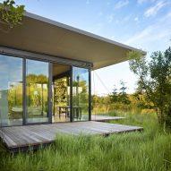 False Bay Writer's Cabin by Olson Kundig