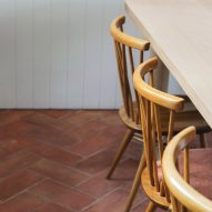Dining chairs in Farley Farmhouse by Emil Eve Architects