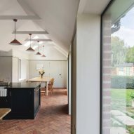 Kitchen in Farley Farmhouse by Emil Eve Architects