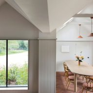 Interior of Farley Farmhouse by Emil Eve Architects