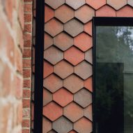 Tiles exterior of Farley Farmhouse by Emil Eve Architects