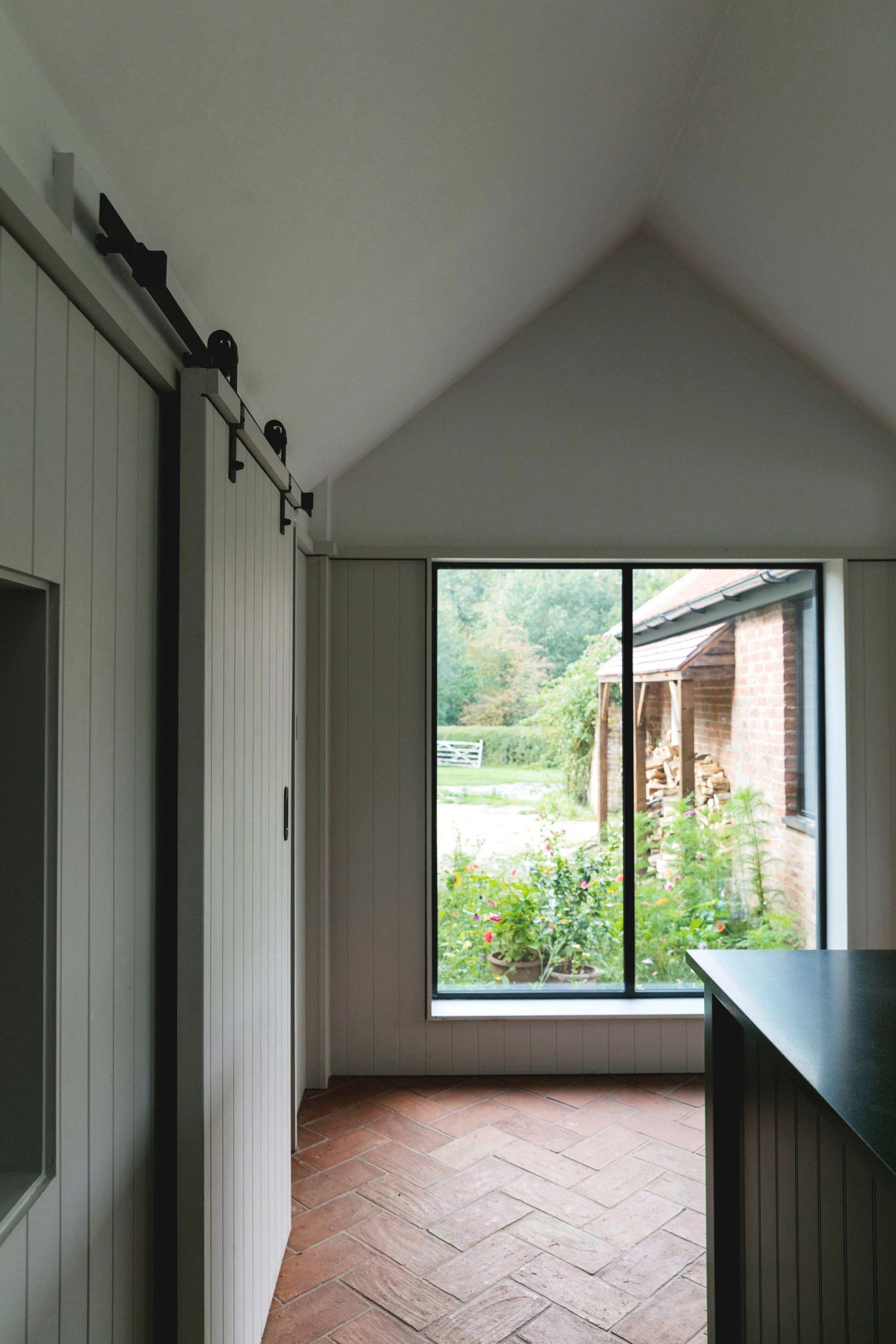 Window of Farley Farmhouse by Emil Eve Architects