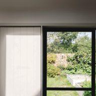 Steel-framed window in Farley Farmhouse by Emil Eve Architects