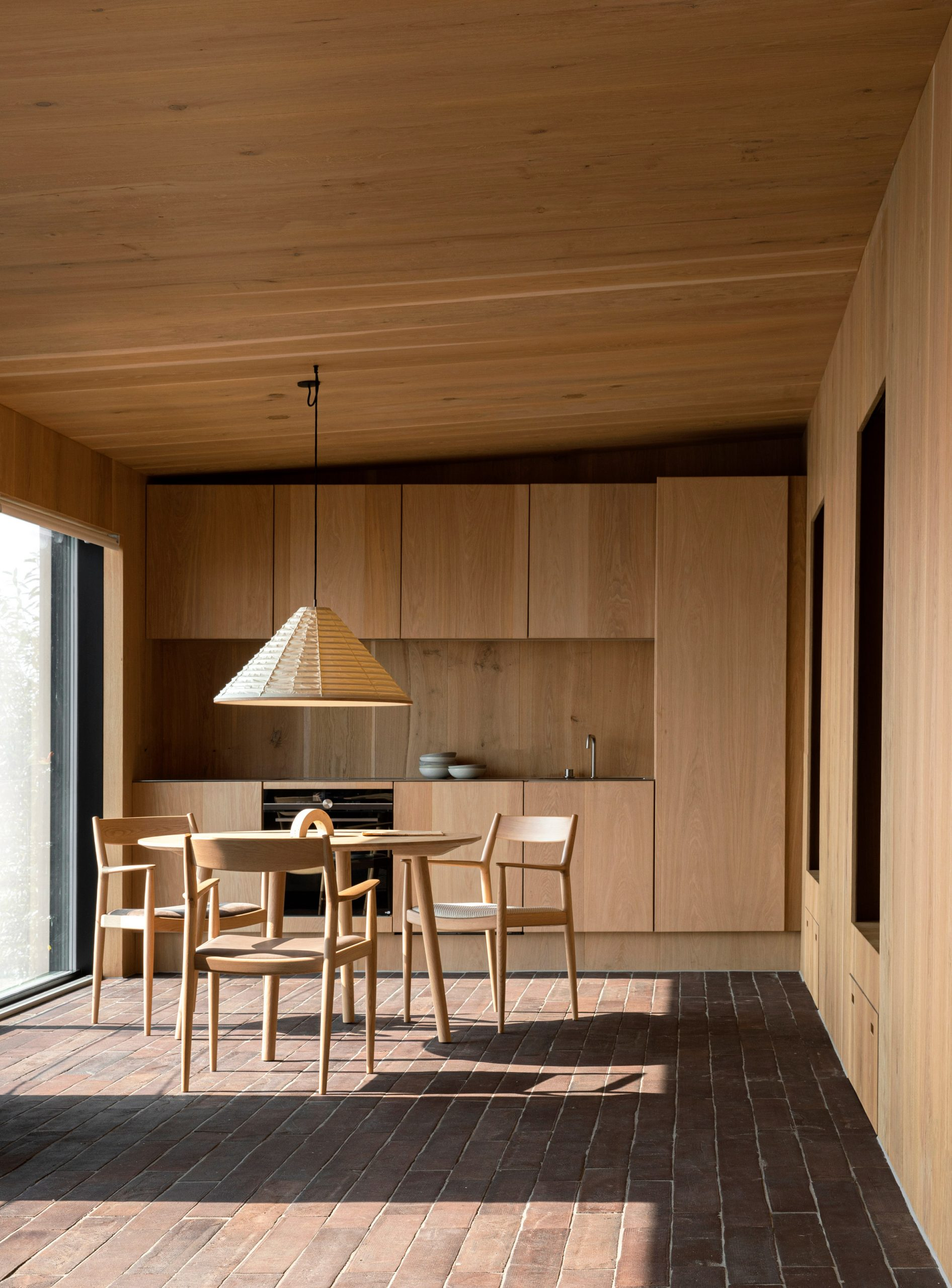 Kitchen of Fjord Boat House by Norm Architects