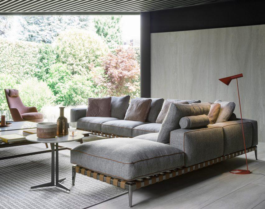Gregory sofa by Antonio Citterio for Flexform