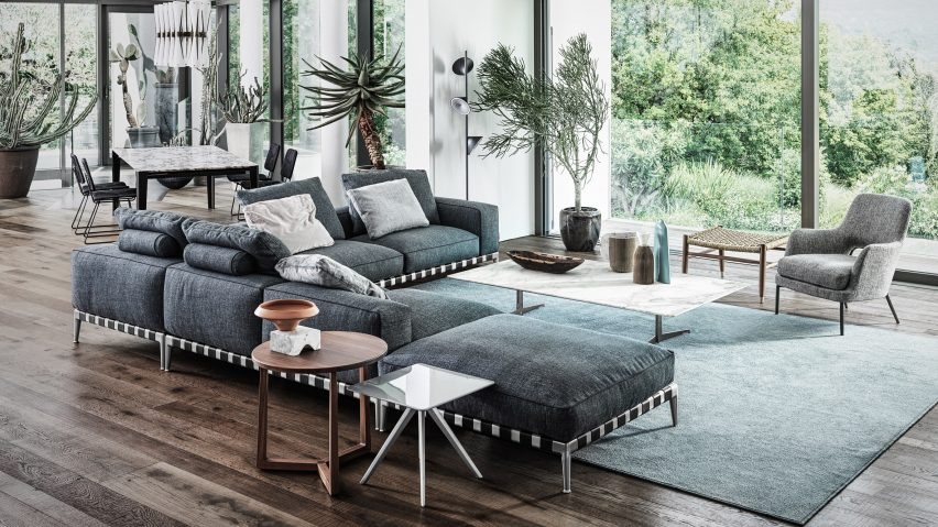 Gregory sofa by Antonio Citterio for Flexform