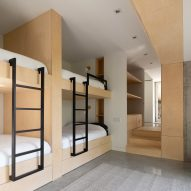 Bunk room in Forest House I by Natalie Dionne Architecture