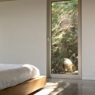 Bedroom window in Forest House I by Natalie Dionne Architecture