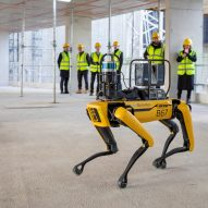 Foster + Partners adopts Spot the Boston Dynamics robot dog