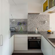 Kitchen in Golden Lane flat by Archmongers