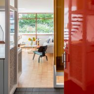 Archmongers uses primary colours to revive a home in the modernist Golden Lane Estate