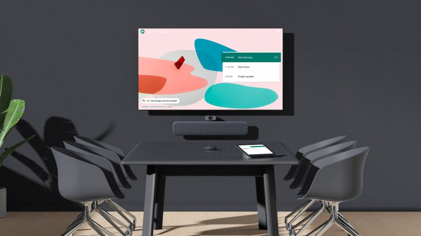 Visual of the Google Meet Series One system