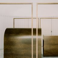 Checkout counter in Grifo210 boutique by Paritzki & Liani Architects