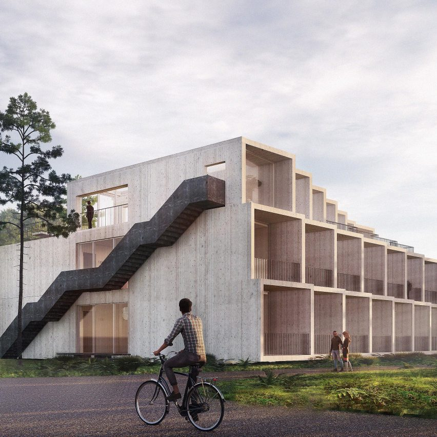 3XN to add carbon-negative extension to Hotel GSH on Bornholm island