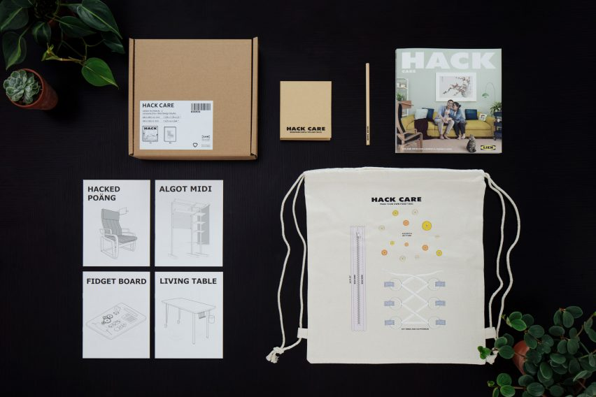 Hack Care book and kit by Lekker Architects, Lanzavecchia + Wai and the Lien Foundation