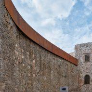 Renovation of Helfštýn Castle in Czech Republic by Atelier-r