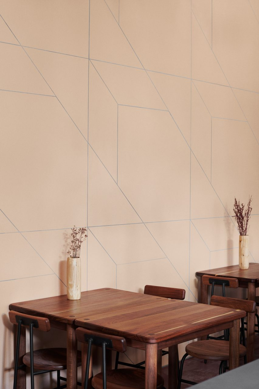 Mutina wall tiles at Hija de Sanchez Cantina by OEO Studio