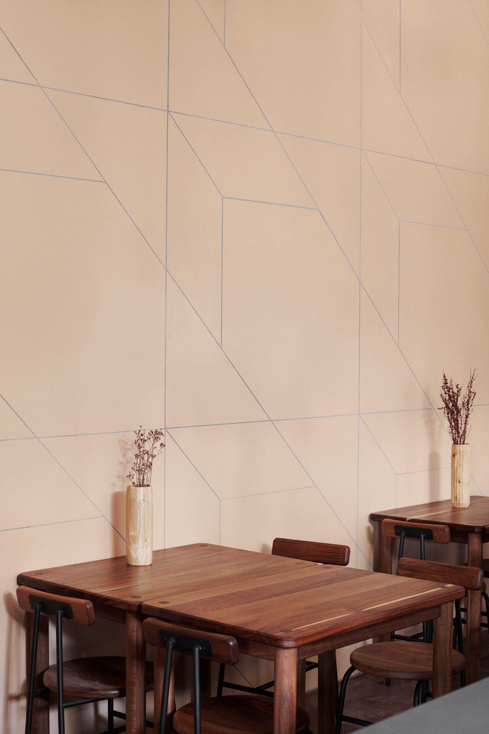 Mutina wall tiles at Hija de Sanchez Cantina by OEO Studio