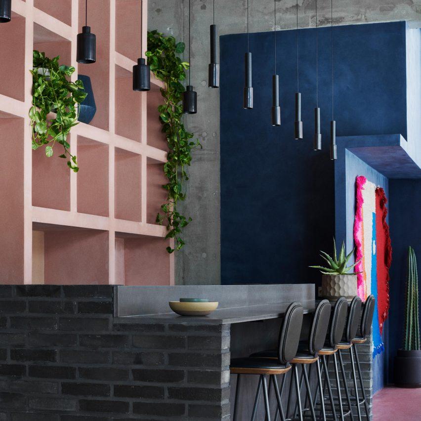OEO Studio creates colourful cantina for Copenhagen eatery Hija de Sanchez