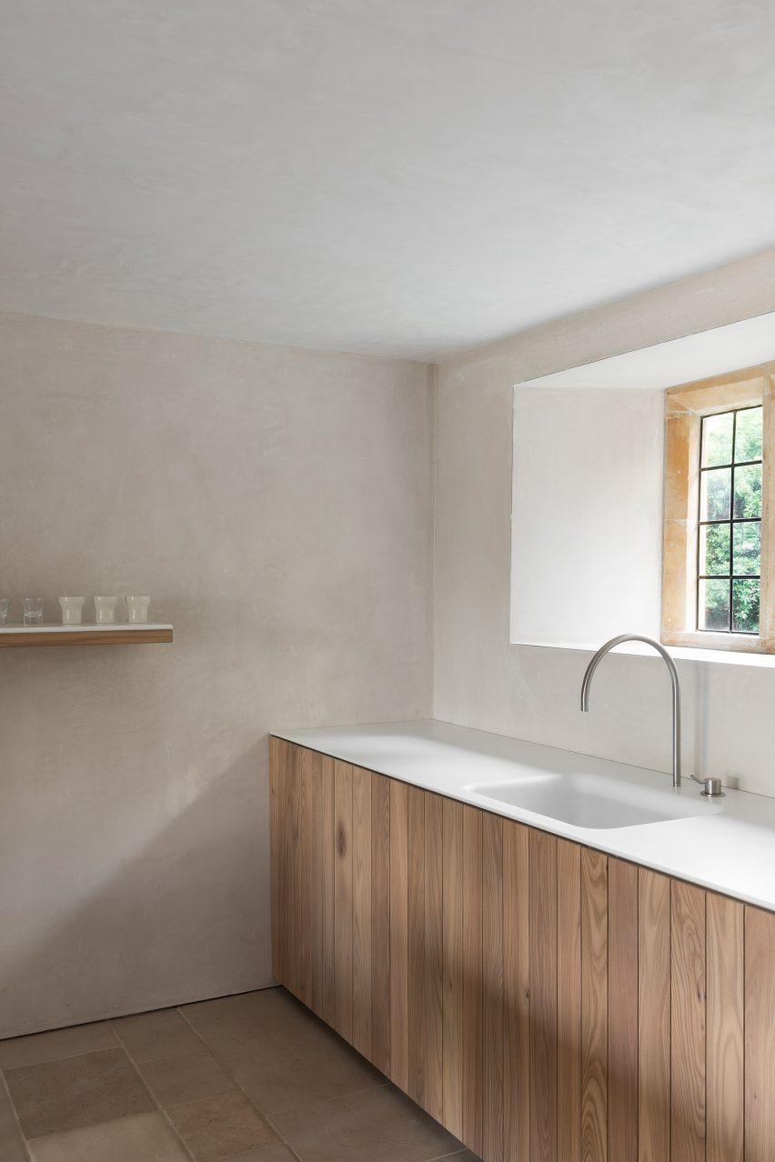 John Pawson's minimalist kitchen