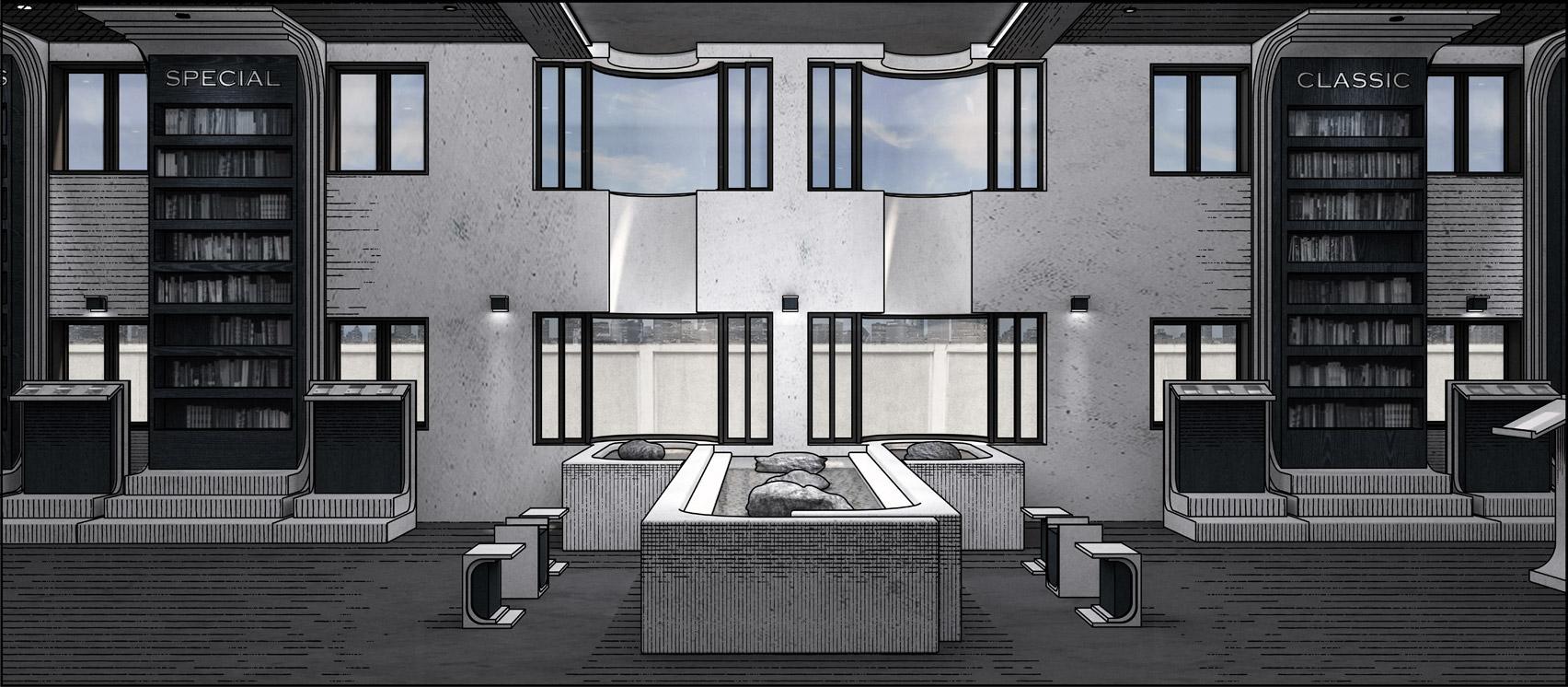 A visual of Archive Moleskine: Moleskine Space Branding by Haim Jung from Hongik University