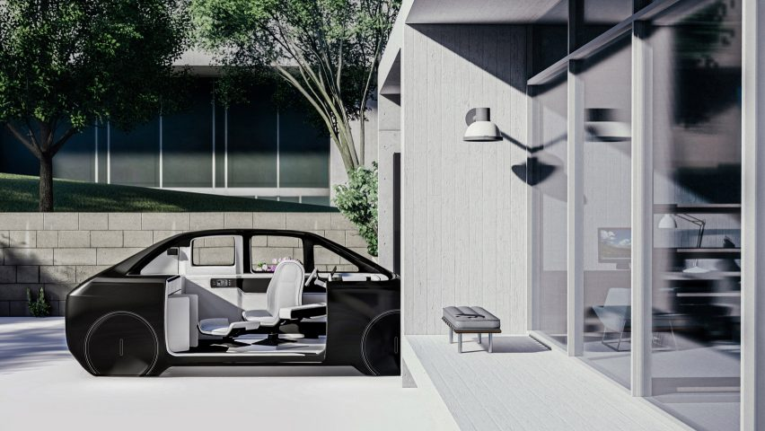 A visual of Tesla Trans by Jaeeun Kim from Hongik University