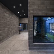 Interior of Aptus Factory Showroom by Hooba Design Group