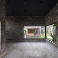 Glass windows in Aptus Factory Showroom by Hooba Design Group