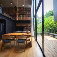 An office inside IDIN Architects Office in Bangkok, Thailand