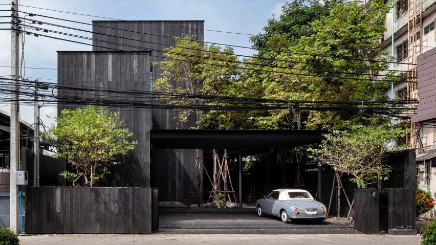 Exterior of IDIN Architects Office in Bangkok, Thailand