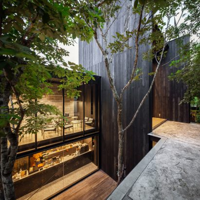 Exterior of IDIN Architects Office in Bangkok, Thailand