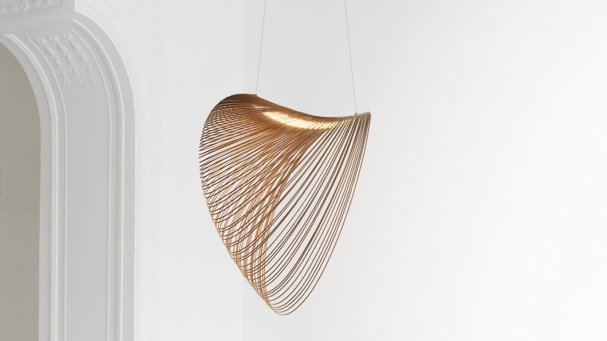 Illan Pendant Light designed by Zsuzsanna Horvath from birch plywood