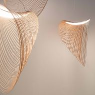 Zsuzsanna Horvath makes lamps from laser-cut plywood