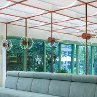 Infinity Wellbeing spa in Bangkok has furniture designed by Space Popular