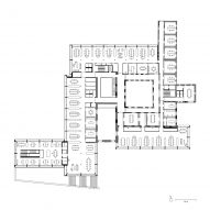 Jacoby Studios by David Chipperfield Architects first floor plan