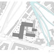 Jacoby Studios by David Chipperfield Architects site plan