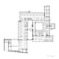 Jacoby Studios by David Chipperfield Architects ground floor plan