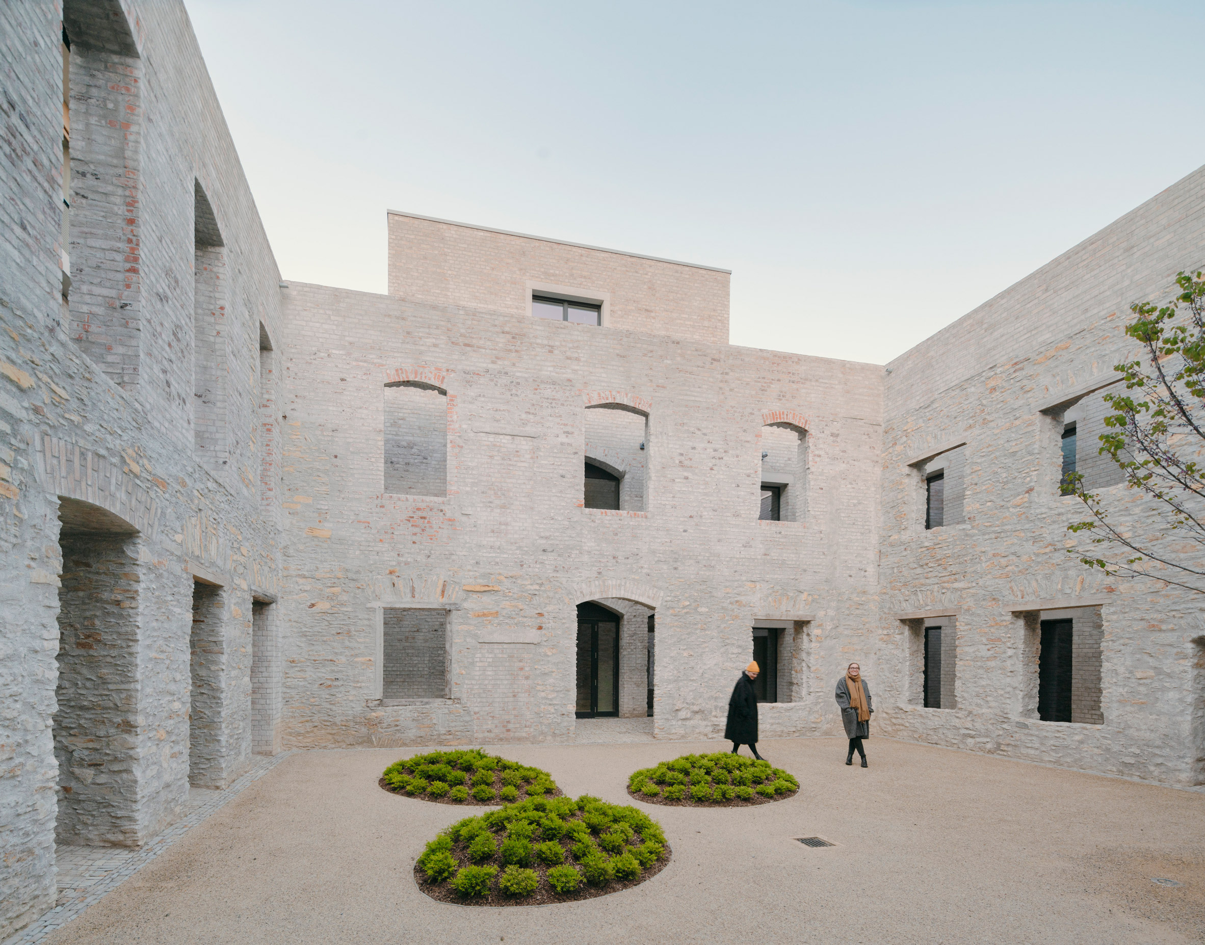 Jacoby Studios by David Chipperfield Architects section a