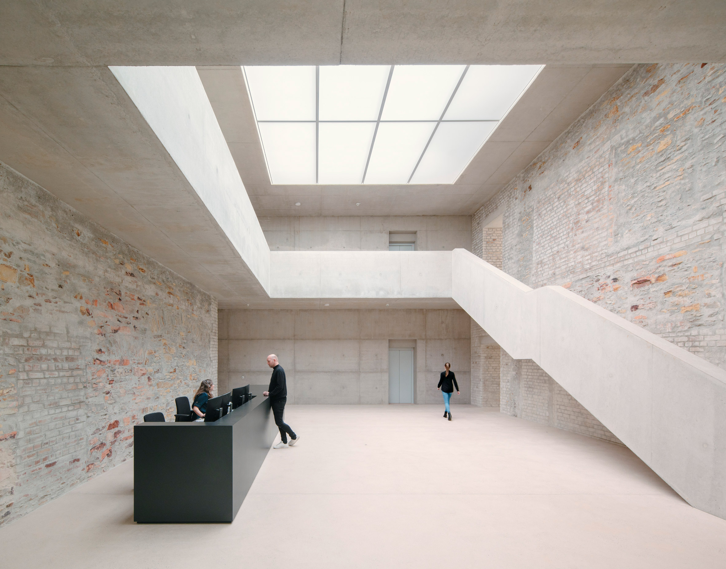 Reception of Jacoby Studios by David Chipperfield Architects
