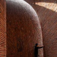 The interior of Jingdezhen Imperial Kiln Museum by Studio Zhu-Pei