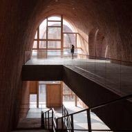 Inside galleries of Jingdezhen Imperial Kiln Museum by Studio Zhu-Pei
