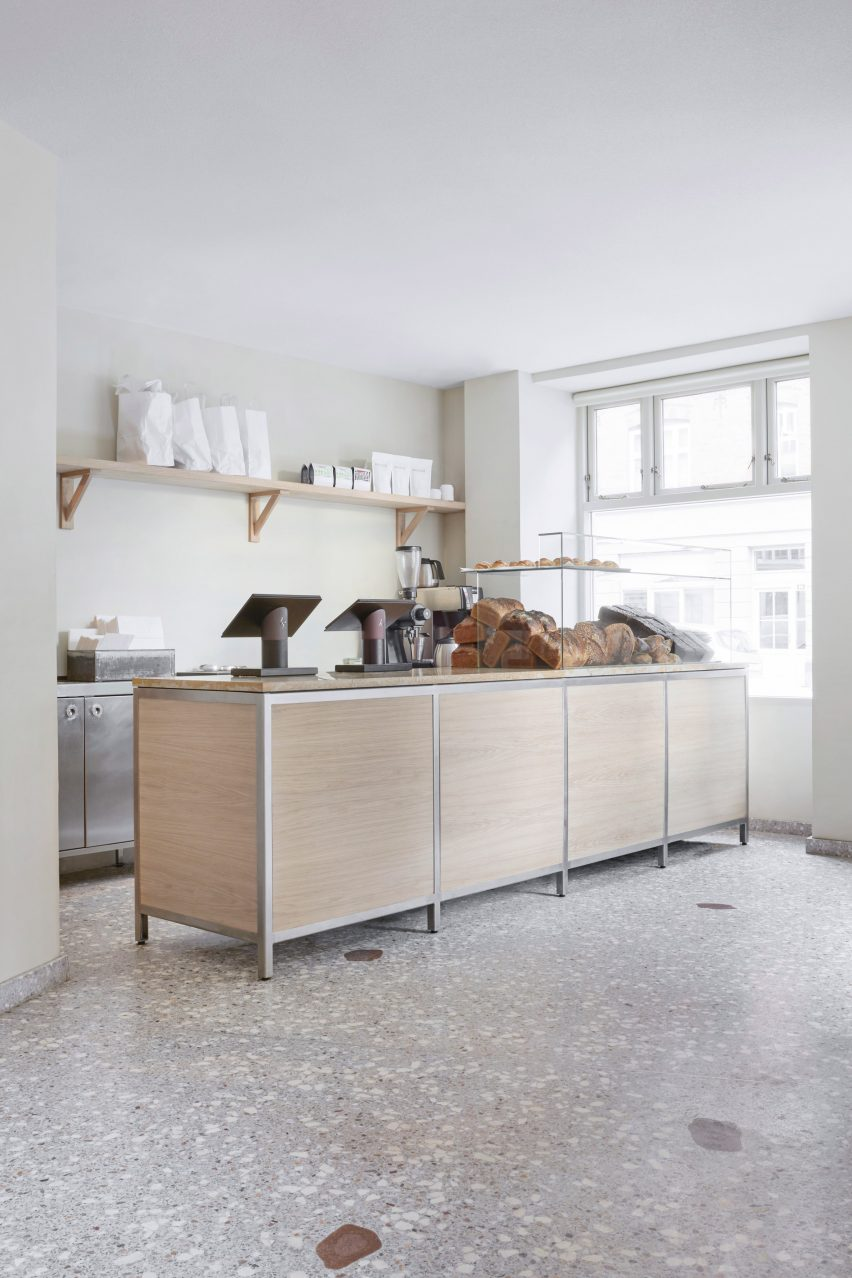 Frama Creates Ultra Minimal Interiors For Juno The Bakery In Copenhagen