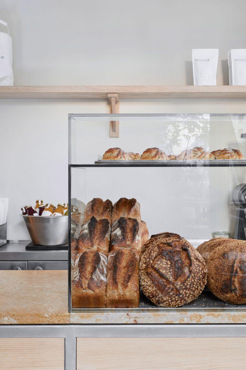 Juno the Bakery in Copenhagen features minimalist interiors
