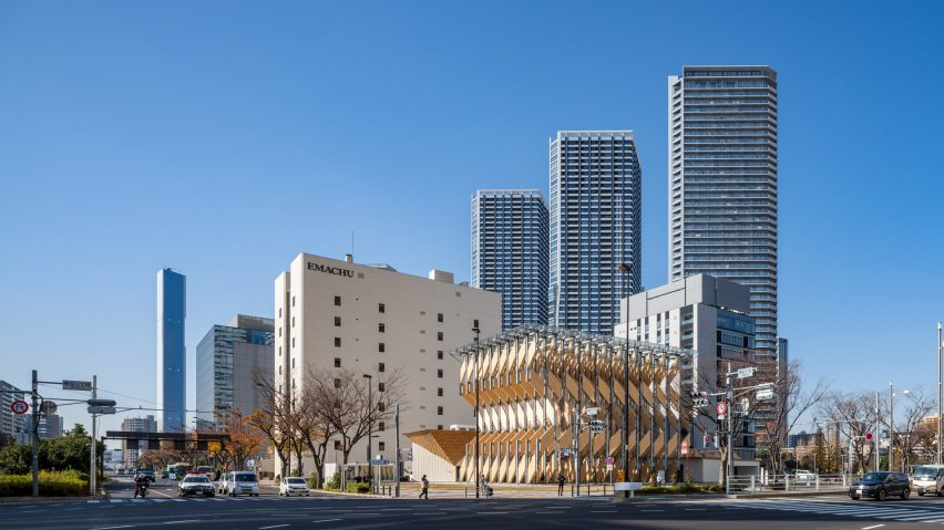 CLT Park Harumi by Kengo Kuma in Tokyo, Japan
