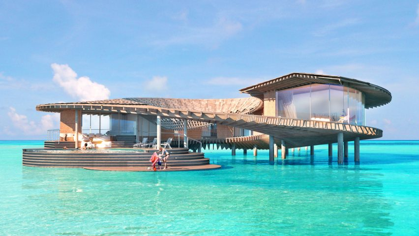 Kengo Kuma design for The Red Sea Project
