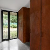Entrance of King Edward Residence by Atelier Schwimmer in Montreal, Canada