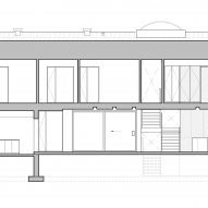 Section of King Edward Residence by Atelier Schwimmer in Montreal, Canada